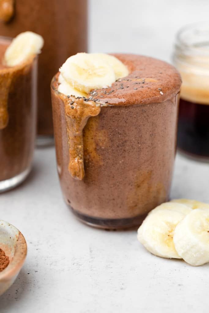 coffee smoothie in cup