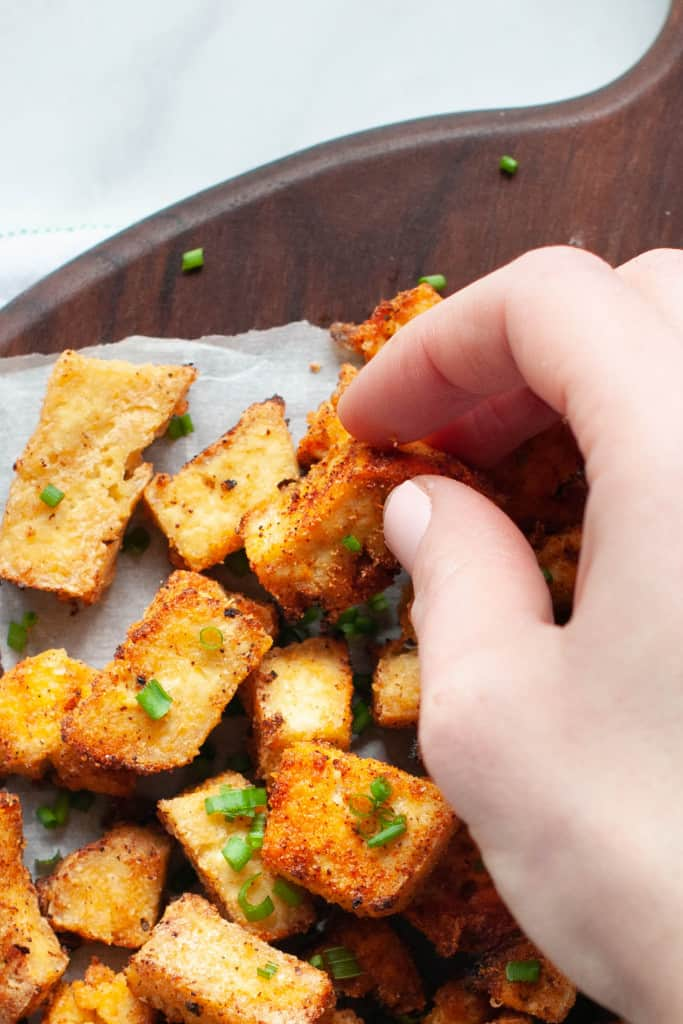 air fried tofu