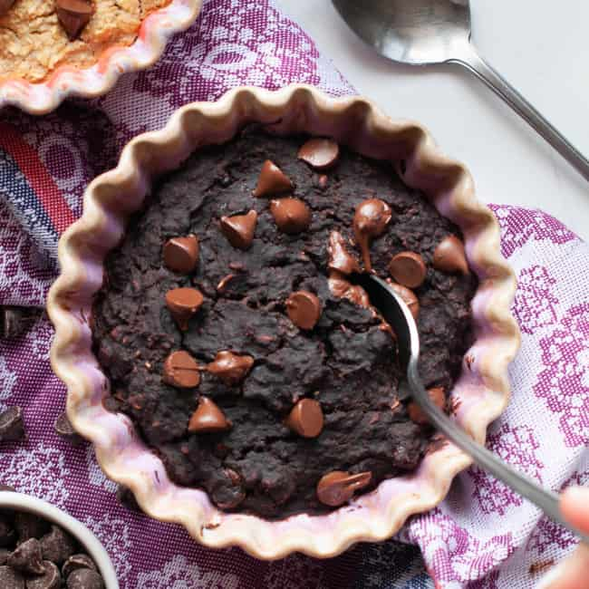 chocolate baked oatmeal