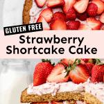 gluten free strawberry shortcake cake