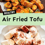 healthy air fried tofu