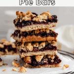 Healthy cherry pie bars