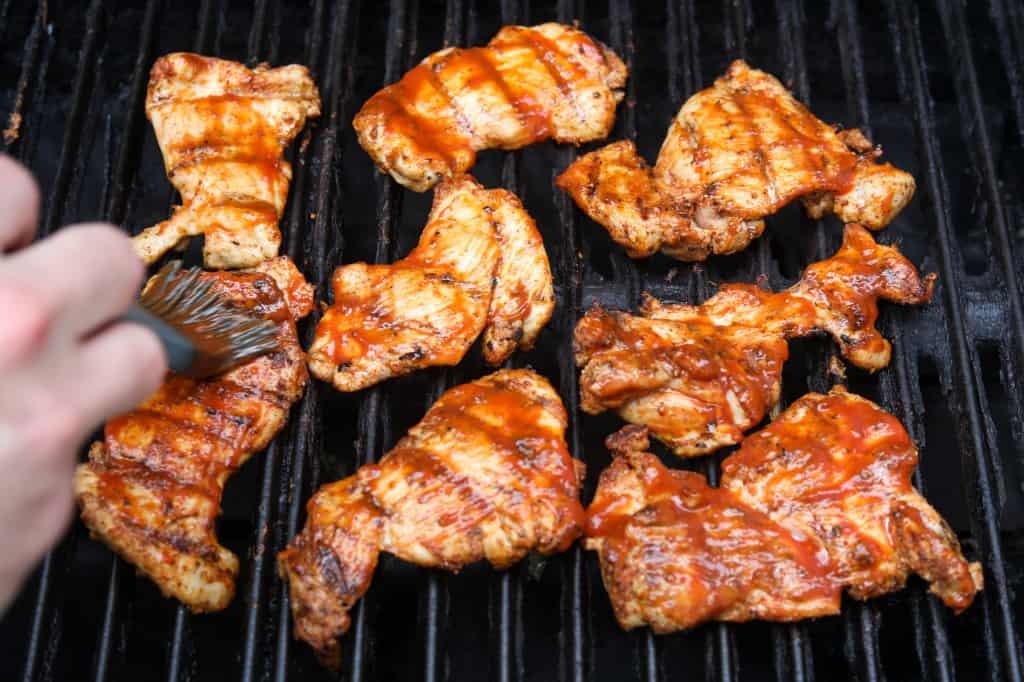 bbq grilled chicken thighs