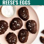 Healthy Reese's Eggs
