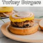 pineapple turkey burgers