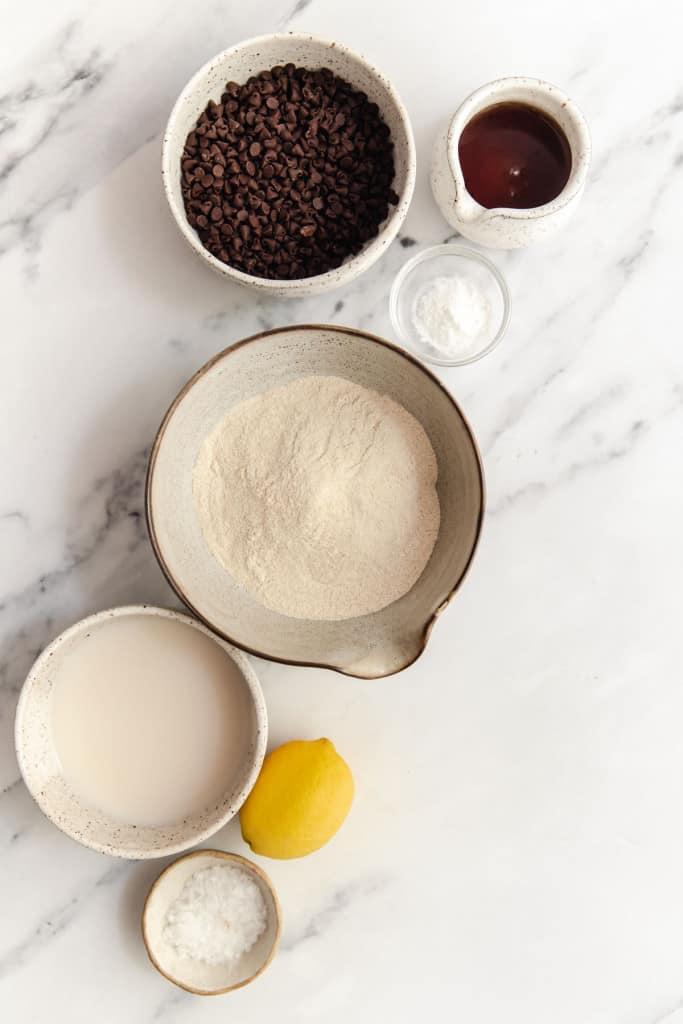 ingredients for mini pancake bites