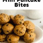 healthy mini pancake bites