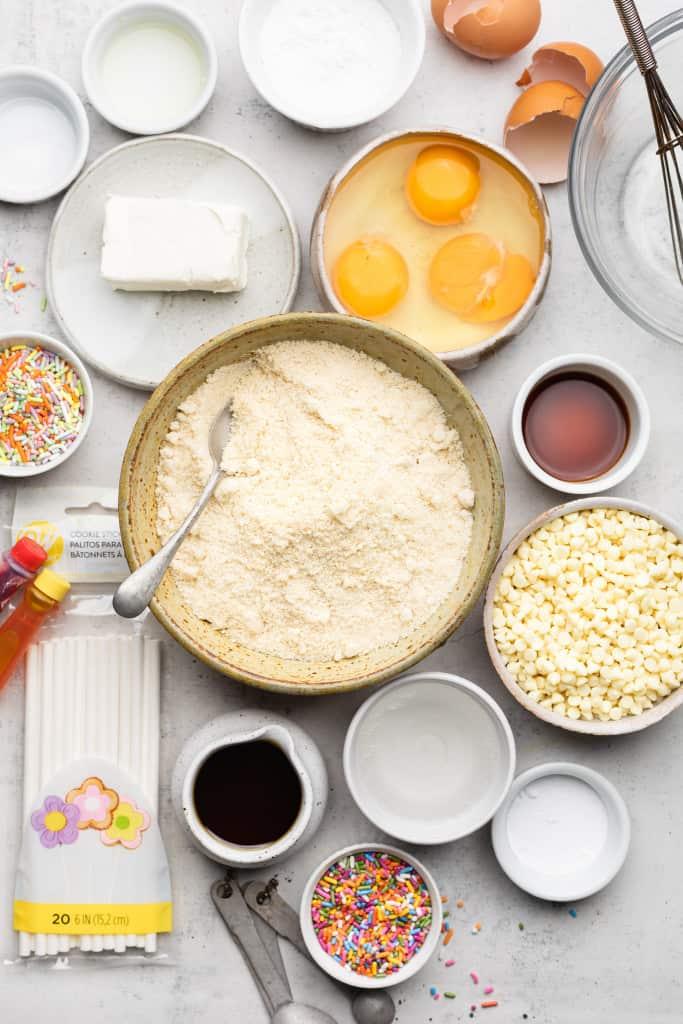 making cake pops