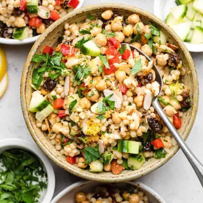 moroccan cous cous salad