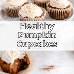healthy pumpkin cupcakes