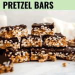 peanut butter pretzel bars