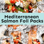 Mediterranean Salmon Foil Packs